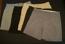 Lot Of 5 Mens Golf Shorts Size 42 Reebok Op Haggar Pro Tour Used Nice
