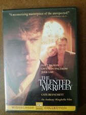 The Talented Mr. Ripley (Dvd, 2000)Matt Damon Gwyneth Paltrow Jude Law
