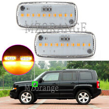 LED Dynamic Fender Repeater Side Marker Light For Jeep Commander Compass Patriot