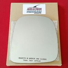 NEW Mirror Glass 96-02 CHEVY EXPRESS VAN Passenger Side ***FAST SHIPPING***