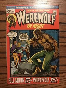 Werewolf by Night #1 1972, Marvel Comics (32 & 33 Are Listed, Moon Knight)