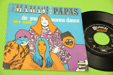 "MAMAS AND PAPAS 7"" DO YOU WANNA DANCE ORIG ITALY 1968 NM !!!!!!!!!!!!!!!!!!!!!!!"