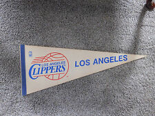 VINTAGE 1970's LOS ANGELES CLIPPERS FELT PENNANT NBA OFFICIAL LICENSED