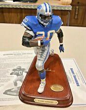 Barry Sanders Danbury Mint All-Star Figurine / Statue ~ Detroit Lions