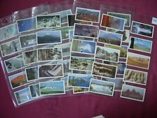Features of the World Brooke Bond Tea cards 1984 X50 comp set sleeved VGC