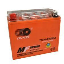 GEL YTX12-BS 12V 12AH Battery for Honda ATC125M 200 TRX200 Yamaha YZF600R 750R
