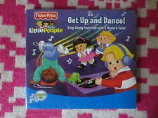 NEW Fisher Price Little People Get Up and Dance! Sing-Along Favorites CD Kids