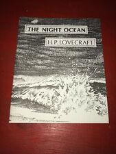 The Night Ocean H.P. Lovecraft Fanzine Magazine 1982 Necronomicon Press