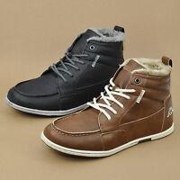 KAPPA JOYCE Damen Schnürschuhe mit Warmfutter High-Top Sneaker Boots 241542