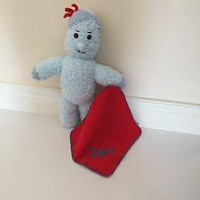 Personalised Cuddly Iggle Piggle With Attached Fleece Blanket With Chosen Name