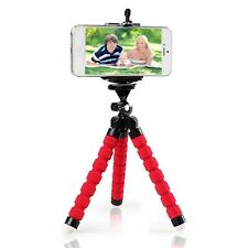 Red Adjustable Tripod Stand Mount Holder For Samsung Galaxy S8 iPhone7 Plus