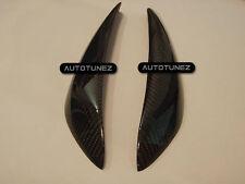 Quality Carbon Fiber Car Eyebrow Eyelid For Nissan Skyline R34 GT-R GTS TU Black