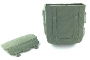 Vintage Stony Smith Marx Tactical Backpack Accessories Army Green Military S167
