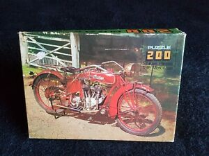 VINTAGE MOTORBIKE (OLD TIMERS) 1976 200 PIECE JIGSAW PUZZLE
