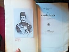 3960- VOYAGE La Nouvelle Egypte, DE GUERVILLE, 1905, numéroté,édition de luxe