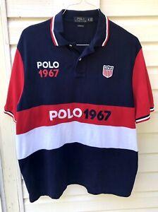 Polo Ralph Lauren Mens Classic Fit XL Polo Shirt - Polo 1967 Shield