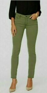 NYDJ  Ami Skinny Ankle Lift & Tuck  Jeans  Colour Green  UK 16, RP £149