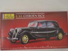 Citroen 11CV Oldtimer Auto  1:43 *NEU*  Heller Plastikbausatz