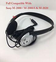 Panasonic Replacement Headset Headphone For Sony M-2000/ M-2020 Transcriber. NEW