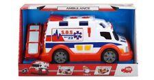 Dickie Toys Juguete Ambulancia con luz y suena genial Regalo De Navidad Cumpleaños