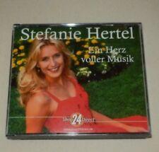 Stefanie Hertel - Ein Herz voller Musik - 4CD-Box-neuwertig