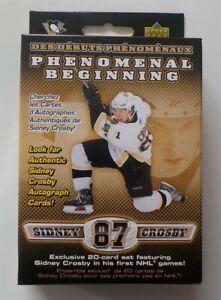 Sidney Crosby Upper Deck Phenomenal Beginning Set