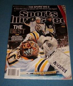 2013 Sports Illustrated BOSTON BRUINS TUUKKA RASK Dennis SEIDENBERG NewsStand NL