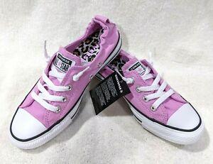 Converse Women's CT AS Shoreline Peony Pink/Multi Slip On Sneaker-Size 8/11 NWOB