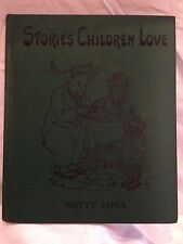 Stories Children Love by Watty Piper 1955 HC Color Illustrations