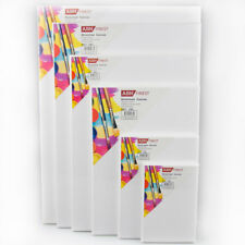 ready to paint stretcher frame with canvas ARTIKUM 2x PREMIUM 3D DEEP EDGE STRETCHED CANVAS 60x60cm double pre-primed extra high square canvas on stretcher frame 60 x 60 cm