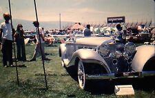 KODACHROME 35mm Slide Circa 1937 1938 Mercedes-Benz 540K Spezial 1977 People!!!