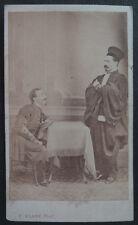 Photo Cdv Klary Oran Photomontage Avocat Militaire Vers 1860/70