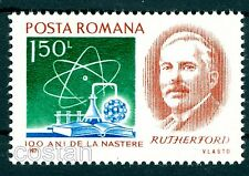 1971 Ernest Rutherford,Chemistry Nobel Prize,physicist,nuclear physics,Romania*