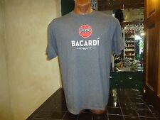 Bacardi Marca De Fabrica gray 2XL t-shirt, family-owned spirits company, Rum