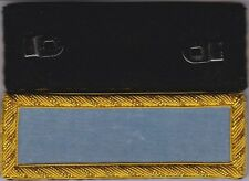 Civil War Infantry 2nd Lieutenant Shoulder Boards Sky Blue Straps wFree $20 Coin