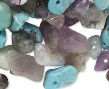 1/2 Pound Multi Gemstone Bead MIX Approximately 900 Beads *