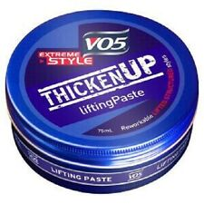 V05 Thicken Up Lifting Paste 75ml/Extreme/Style/Hair/VO5/Reworkable/Full/NEW