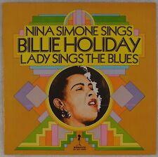 NINA SIMONE: Sings Billie Holiday, Lady Sings the Blues STROUD Soul Jazz LP '72