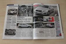 Auto Bild 21284) Volvo V60 D6 Hybrid mit 285PS im Fahrbericht auf einer Seite
