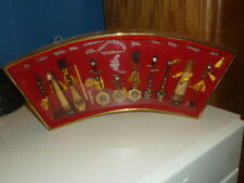 Vtg Vietnam 12 Miniature Musical Instruments nhac cu dan toc Frame Collectable