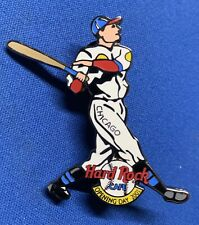 Hard Rock Cafe ~ 2001 Baseball Opening Day ~ Chicago Lapel Hat Pin [H]