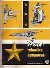Texan Shotgun Reloading Press Catalog and Reloading Data Sheet