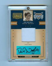 DAVID WRIGHT 2005 PRIME PATCHES AUTO JERSEY #/125