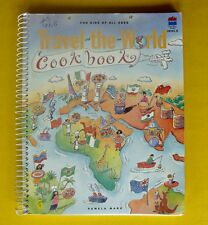 Travel The World Cookbook Book For Kids Of All Ages Easy Cooking Recipe Spiral ✔