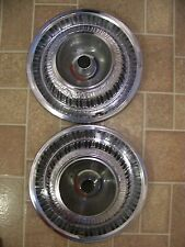 """1969 PLYMOUTH SPORT FURY 15"""" HUBCAPS 1970"""