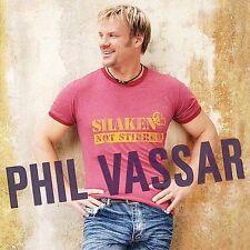 Shaken Not Stirred by Phil Vassar (CD, Sep-2004, Arista) NFS Promo