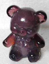 Boyd Glass Fuzzy the Bear Thistlebloom