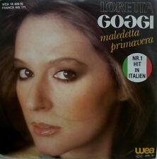 """7"""" 1981 culto Loretta Goggi MALEDETTA PRIMAVERA/MINT -? \"""