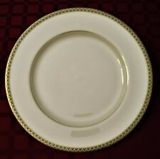 """Lenox PATRIOT (Gold Verge) 10 5/8"""" Dinner Plate - Mint Condition ~ 8 Available"""