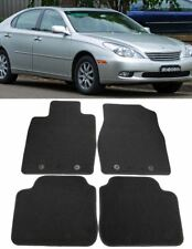 For 2002-2006 Lexus ES330 ES300 Black OE Style Carpet Floor Mats Front Rear